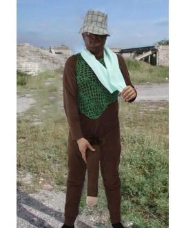 Disfraz del Negro del WhatsApp