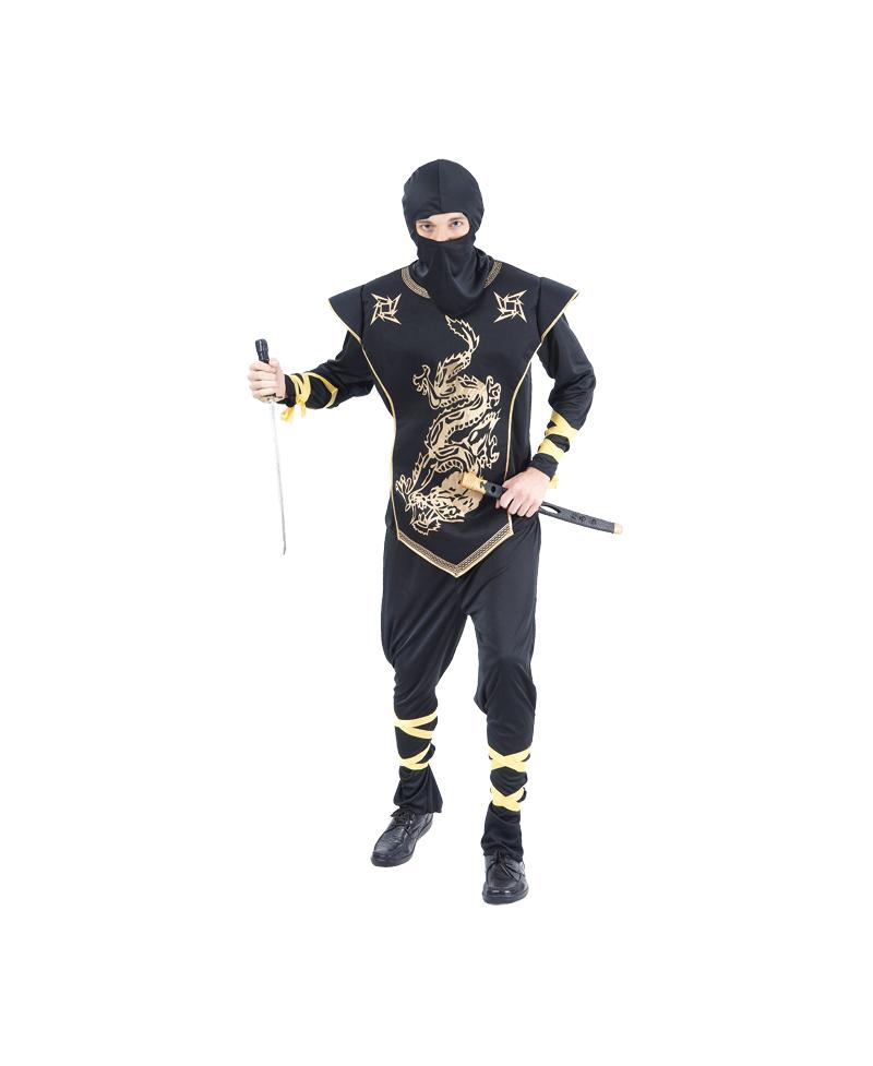 Disfraz de Ninja Dorado