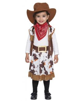 Disfraz de Vaquera Niñas