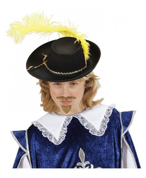 Sombrero Mosquetero con Pluma