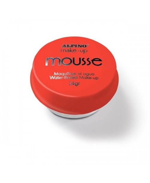 Maquillaje Mousse Rojo