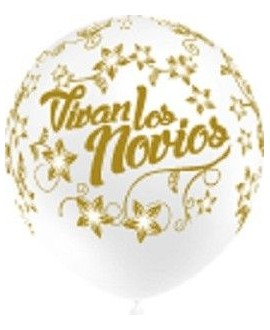 Globos Vivan Los Novios