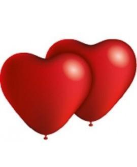 Globos Corazón Rojo