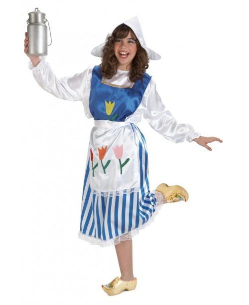 Disfraz de Holandesa Infantil
