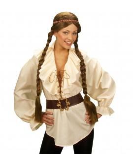 Camisa Pirata / Renacentista Beige