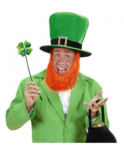 Sombrero de Terciopelo Verde con Hebilla