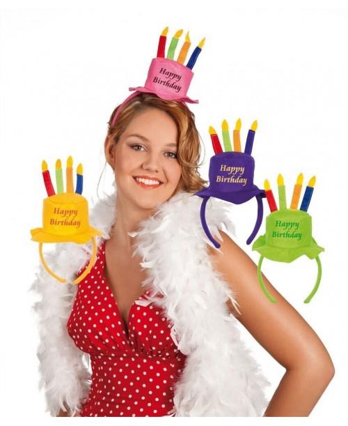 Diadema Feliz Cumpleaños
