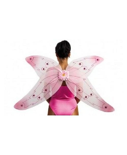 Alas de Mariposa Rosa