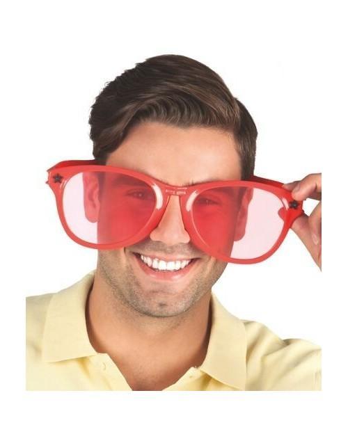 Gafas Rojas Gigantescas