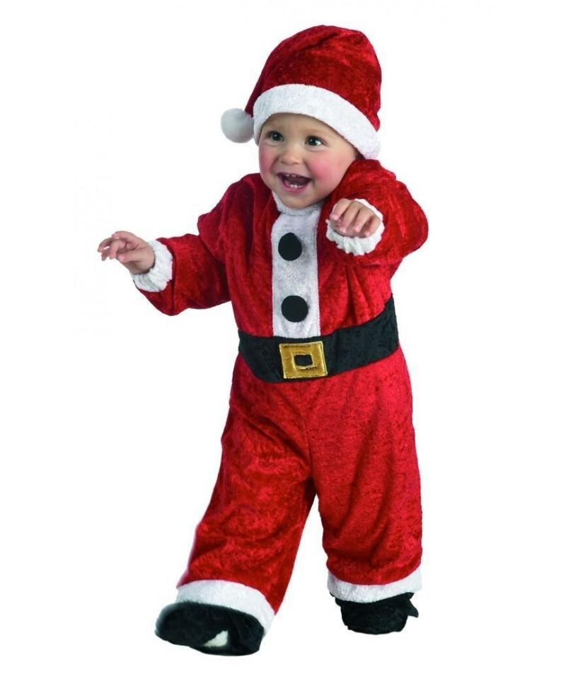 Disfraz Papa Noel Bebé
