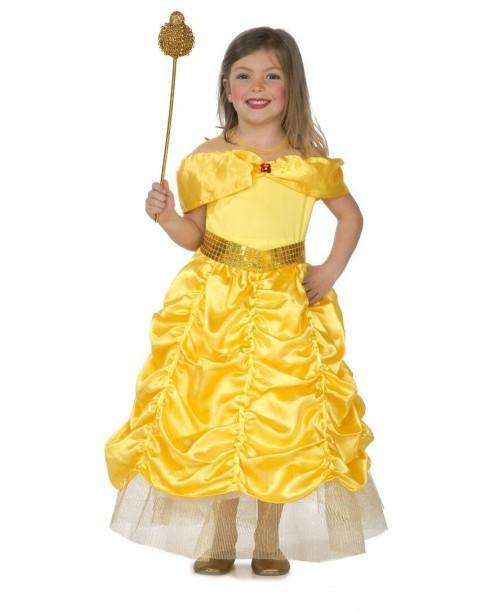Disfraz de Princesa Dorada