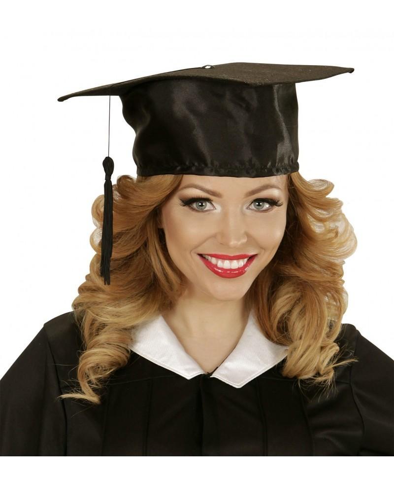 Sombrero Graduado en Raso - Casa del disfraz® d9f26f22b47