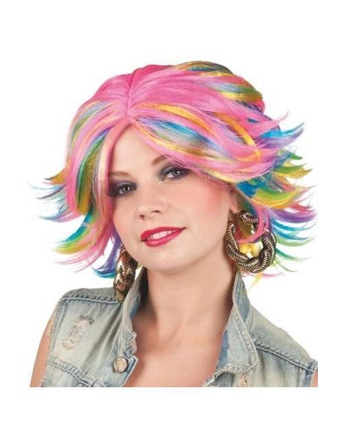 Peluca Jilian Multicolor