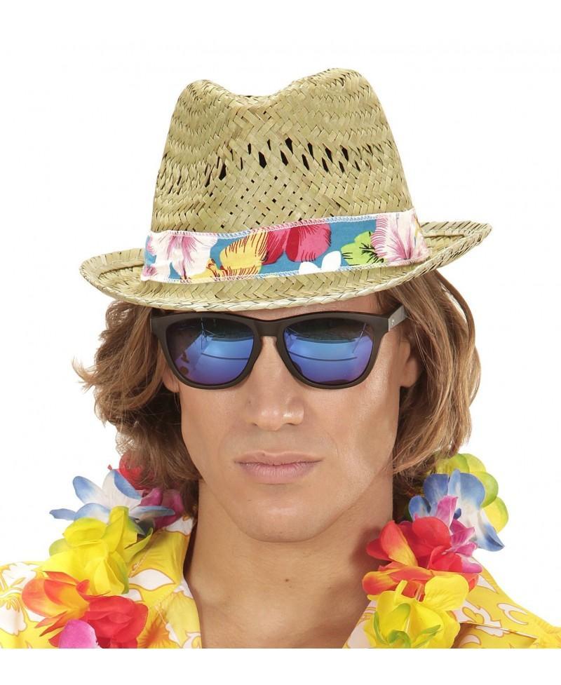 Sombrero Playa Hawaiano Chico