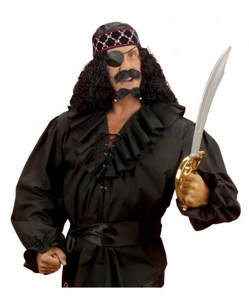 Camisa Pirata / Renacentista Negra