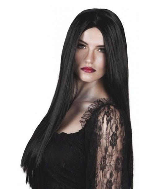 Peluca Bruja Negra