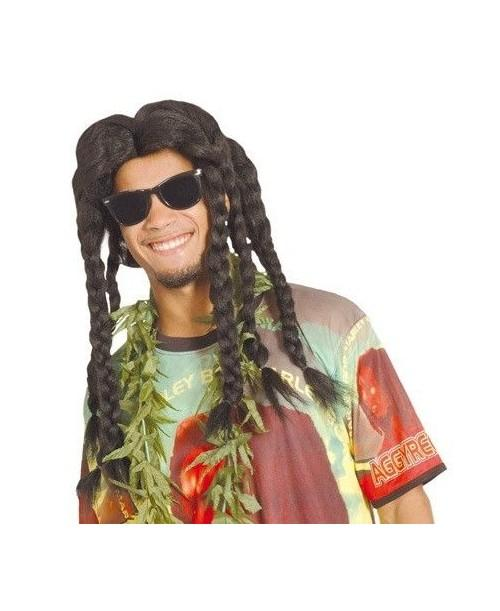 Peluca Jamaica Rasta Negra