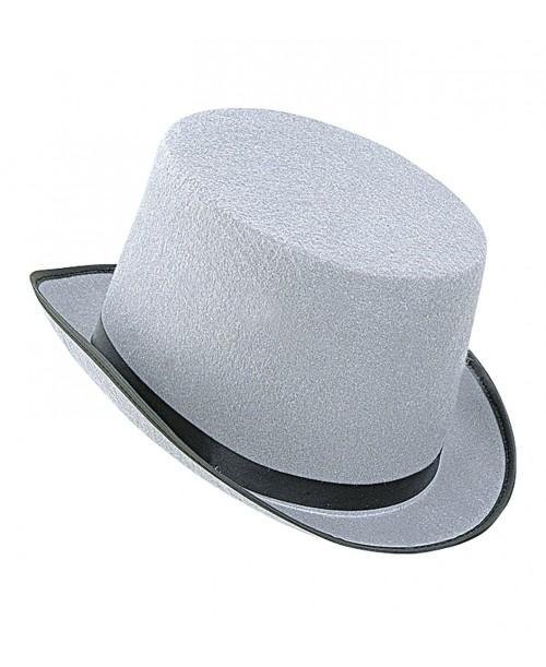Sombrero Copa Grande Gris