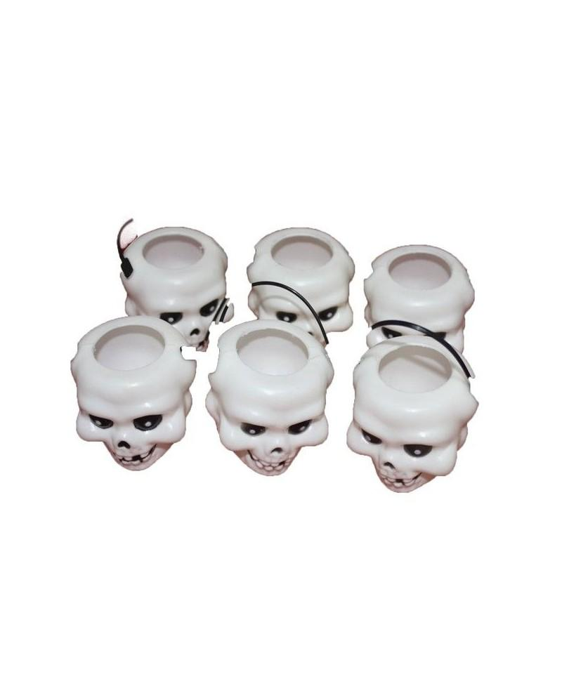 Pack 6 Mini Calaveras
