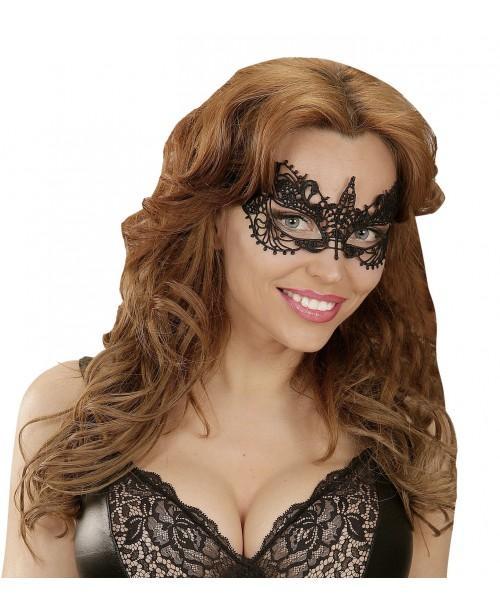 Máscara de Encaje Negra