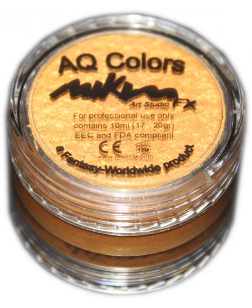 Maquillaje al Agua Dorado