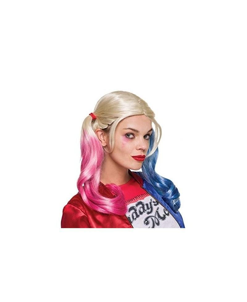 Peluca Harley Queen de Escuadrón Suicida Adulto