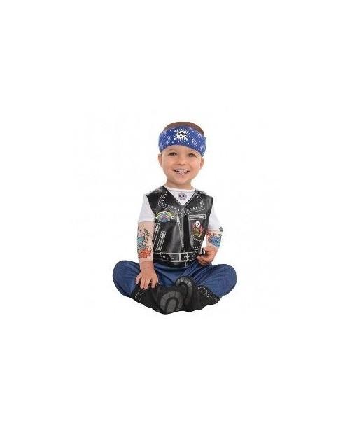Disfraz de Motorista para Bebes