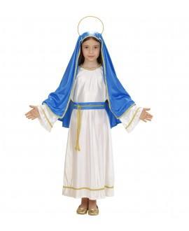 Disfraz de Virgen María