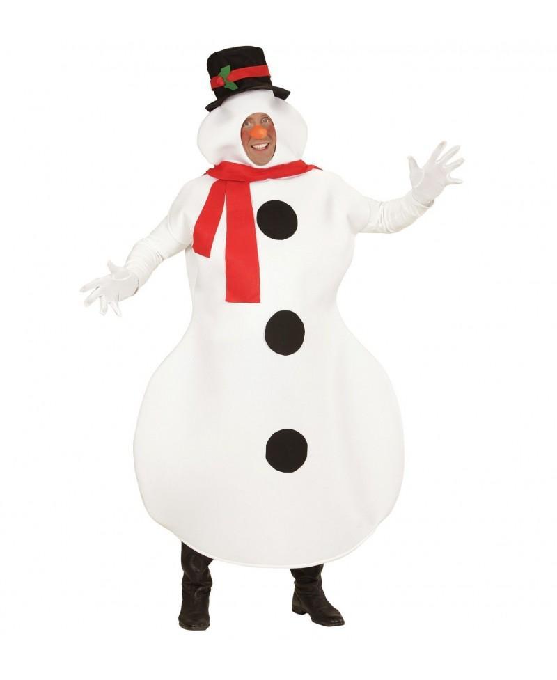 Disfraz de Muñeco de Nieve para Adultos