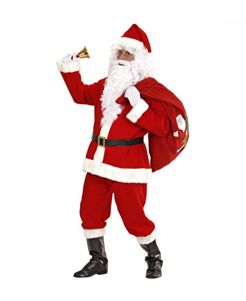 Disfraz de Papá Noel Súper Lujo