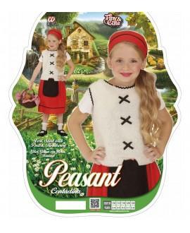 Disfraz de Campesina o Pastorcita para Niña