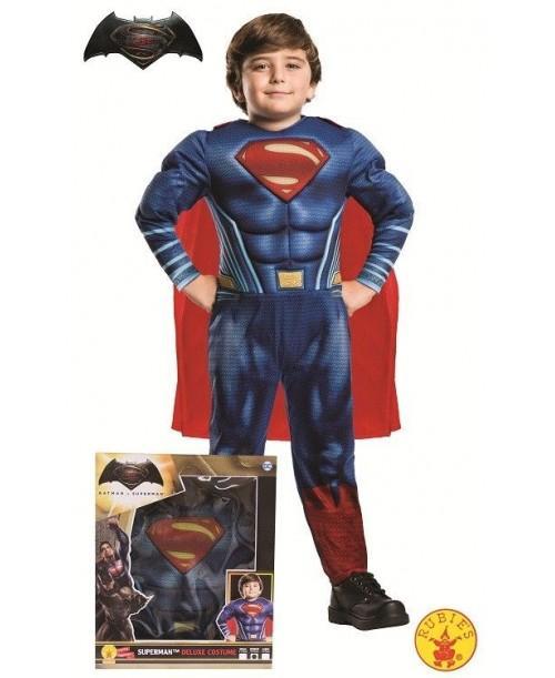 Disfraz de Superman DOJ Musculoso en Caja