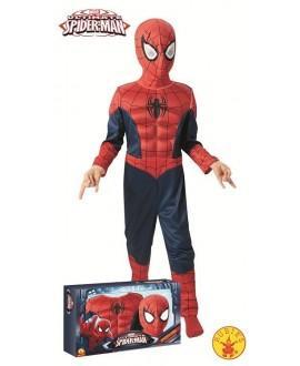 Disfraz de Spiderman Ultimate Musculoso en Caja