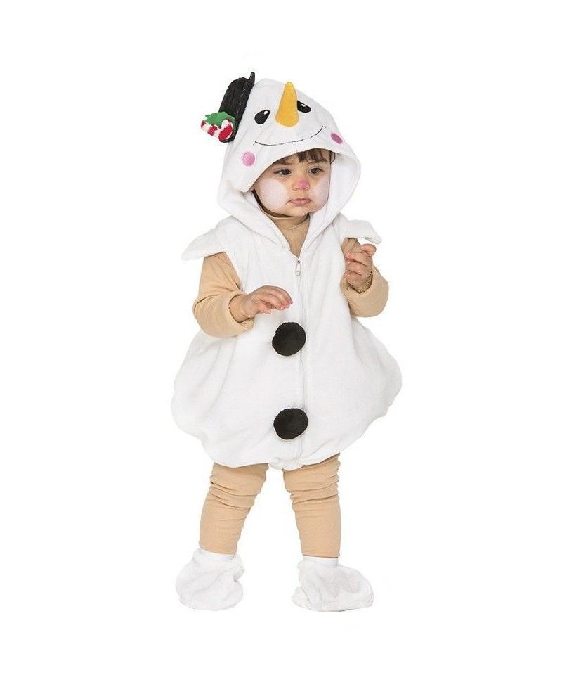 Disfraz de Muñeco de Nieve para Bebes