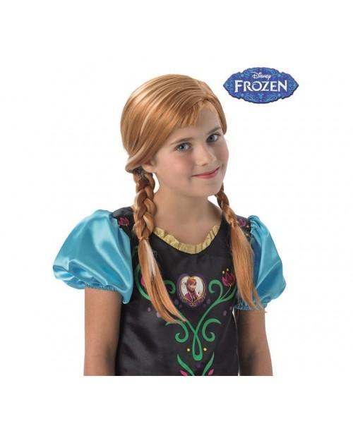 Peluca Anna de Frozen