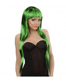 Peluca Fashion Streaks Negro-Verde