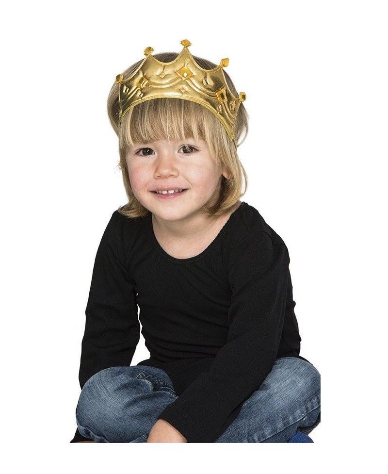 Corona Rey Oro Infantil