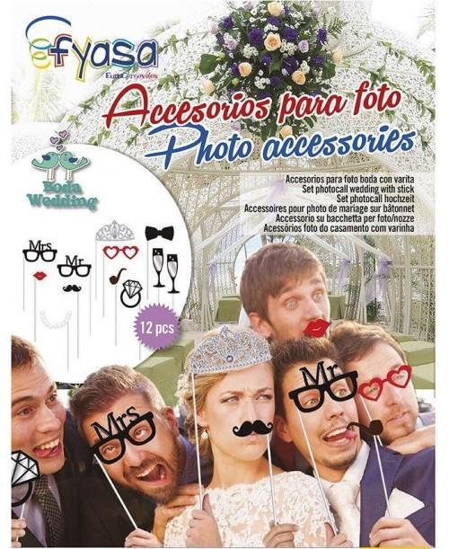 Set Photocall Boda (12 Pzas)