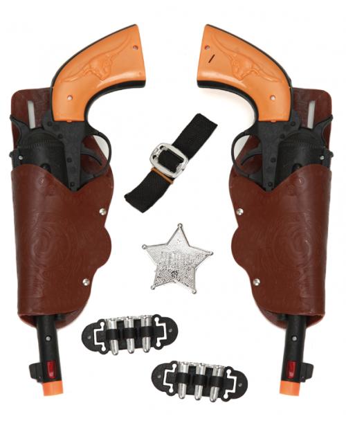Set 2 Pistolas Adulto 30 x 12cm