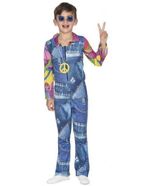 Disfraz de Hippie Vaquero Niño