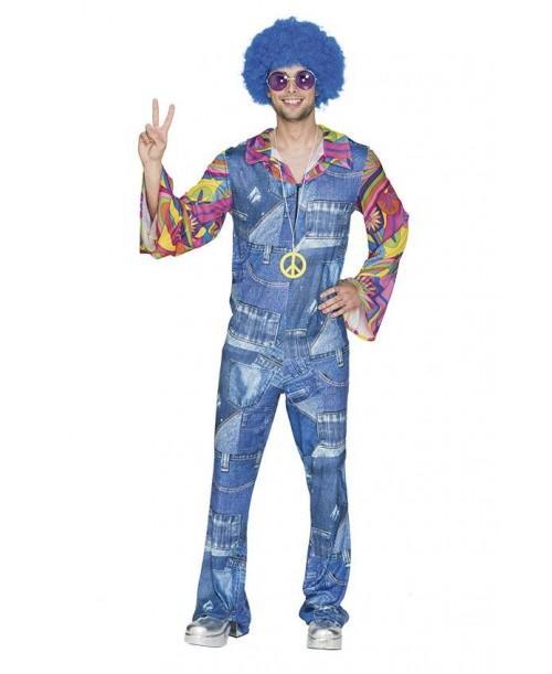Disfraz de Hippie Vaquero Adulto