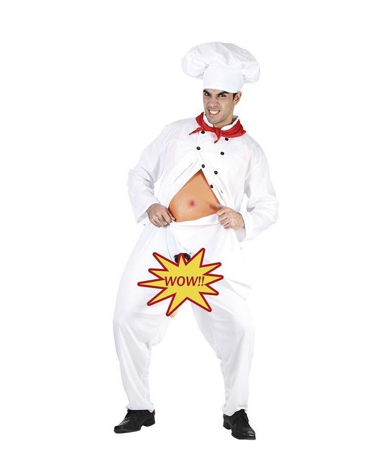 Disfraz Cocinero Exhibicionista