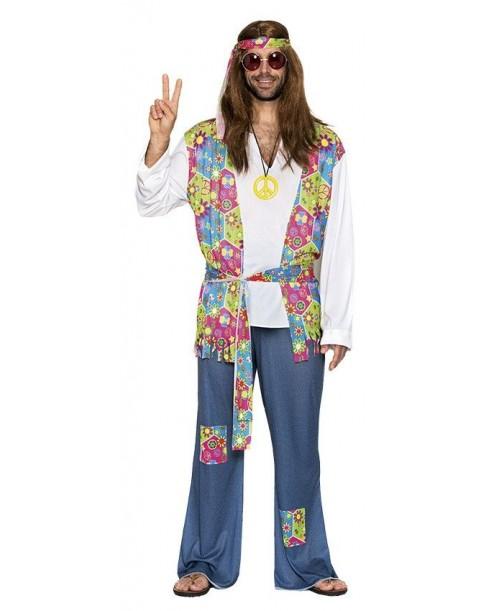 Disfraz de Hippie de Adulto