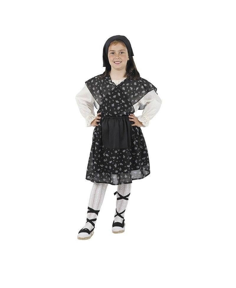 Disfraz de Campesina Flores Niña