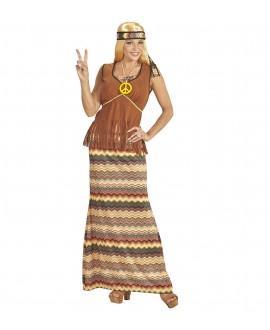 Disfraz de Hippie de Mujer