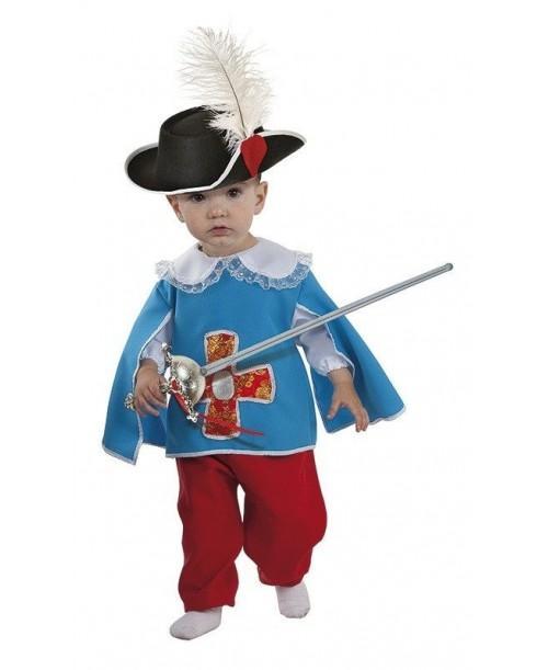 Disfraz de Mosquetero Bebe