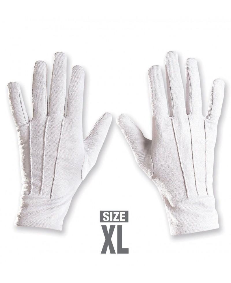 Guantes Blancos XL