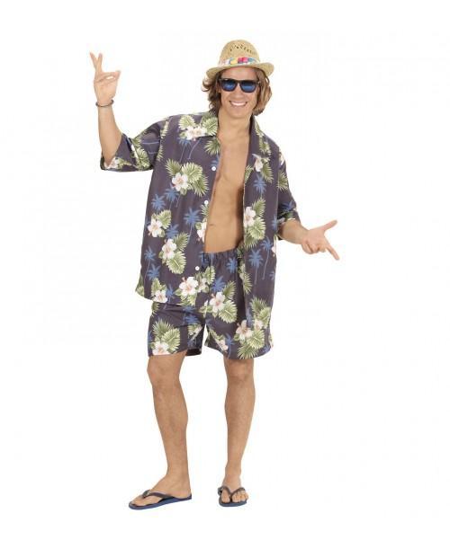 Disfraz de Hombre Hawaiano