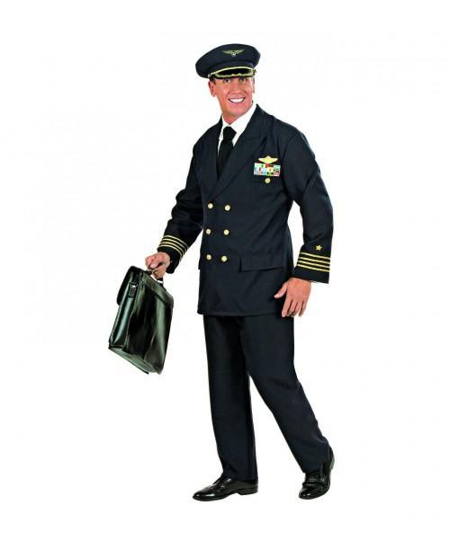 Disfraz de Piloto Adulto