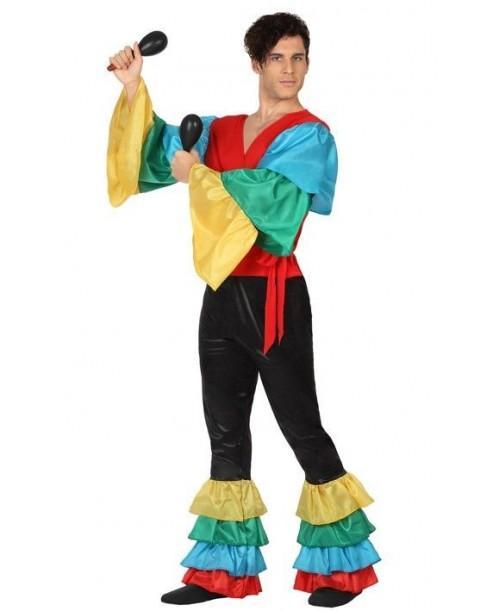 Disfraz de Rumbero Samba Adulto